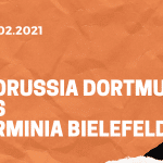 Borussia Dortmund – Arminia Bielefeld Tipp 27.02.2021