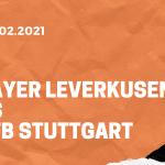 Bayer 04 Leverkusen – VfB Stuttgart Tipp 06.02.2021