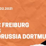 SC Freiburg – Borussia Dortmund Tipp 06.02.2021