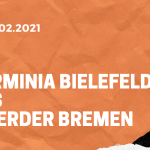 Arminia Bielefeld – SV Werder Bremen Tipp 07.02.2021