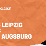 RB Leipzig – FC Augsburg Tipp 12.02.2021
