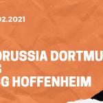 Borussia Dortmund – TSG 1899 Hoffenheim Tipp 13.02.2021