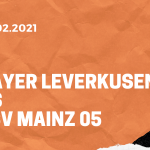 Bayer 04 Leverkusen - 1. FSV Mainz 05 Tipp 13.02.2021