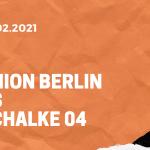 1.FC Union Berlin – FC Schalke 04 Tipp 13.02.2021