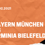 FC Bayern München – Arminia Bielefeld Tipp 15.02.2021