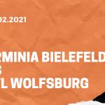 Arminia Bielefeld – VfL Wolfsburg Tipp 19.02.2021