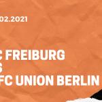 SC Freiburg – 1. FC Union Berlin Tipp 20.02.2021