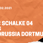 FC Schalke 04 – Borussia Dortmund Tipp 20.02.2021
