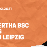 Hertha BSC – RB Leipzig Tipp 21.02.2021
