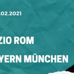 Lazio Rom - FC Bayern München Tipp 23.02.2021