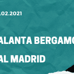 Atalanta Bergamo – Real Madrid Tipp 24.02.2021