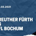 SpVgg Greuther Fürth - VfL Bochum Tipp 06.03.2021