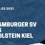 Hamburger SV - Holstein Kiel Tipp 08.03.2021