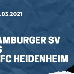 Hamburger SV - 1. FC Heidenheim Tipp 20.03.2021