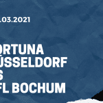 Fortuna Düsseldorf - VfL Bochum Tipp 22.03.2021