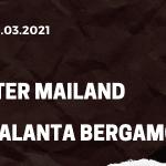 Inter Mailand - Atalanta Bergamo Tipp 08.03.2021