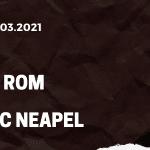 AS Rom - SSC Neapel Tipp 21.03.2021
