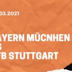 FC Bayern München – VfB Stuttgart Tipp 20.03.2021
