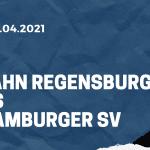SSV Jahn Regensburg - Hamburger SV Tipp 25.04.2021