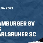 Hamburger SV - Karlsruher SC Tipp 29.04.2021