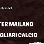 Inter Mailand - Cagliari Calcio Tipp 11.04.2021