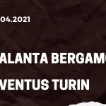 Atalanta Bergamo - Juventus Turin Tipp 18.04.2021
