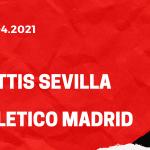 Betis Sevilla - Atletico Madrid Tipp 11.04.2021