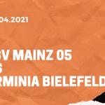 1.FSV Mainz 05 – Arminia Bielefeld Tipp 03.04.2021
