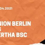 1.FC Union Berlin – Hertha BSC Tipp 04.04.2021