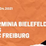 Arminia Bielefeld – SC Freiburg Wetten Tipp 09.04.2021