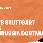 VfB Stuttgart – Borussia Dortmund Tipp 10.04.2021