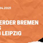 SV Werder Bremen – RB Leipzig Tipp 10.04.2021