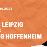 RB Leipzig – TSG 1899 Hoffenheim Tipp 16.04.2021