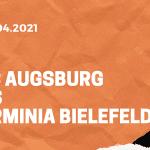 FC Augsburg – Arminia Bielefeld Tipp 17.04.2021