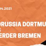 Borussia Dortmund – SV Werder Bremen Tipp 18.04.2021