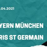 FC Bayern München - Paris St. Germain Tipp 07.04.2021