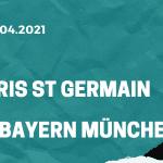 Paris St. Germain - FC Bayern München Tipp 13.04.2021
