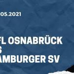 VfL Osnabrück - Hamburger SV Tipp 16.05.2021