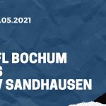 VfL Bochum - SV Sandhausen Tipp 23.05.2021