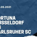 Fortuna Düsseldorf - Karlsruher SC Tipp 03.05.2021