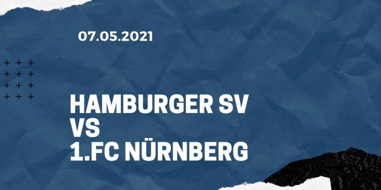 Hamburger SV - 1. FC Nürnberg Tipp 10.05.2021