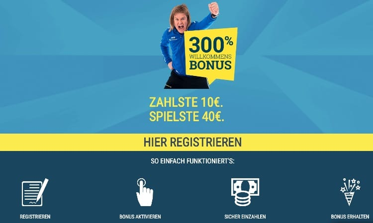 Sportwette.de Bonus