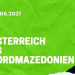 Österreich - Nordmazedonien Tipp 13.06.2021