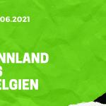 Finnland - Belgien Tipp 21.06.2021