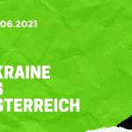 Ukraine - Österreich Tipp 21.06.2021