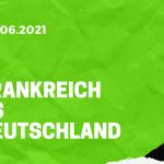 Frankreich - Deutschland Tipp 15.06.2021