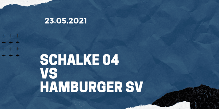 FC Schalke 04 - Hamburger SV Tipp 23.07.2021