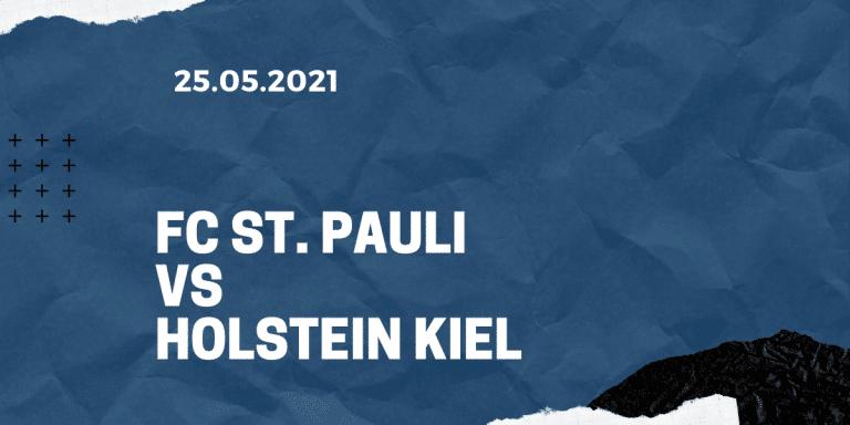 FC St. Pauli - Holstein Kiel Tipp 25.07.2021