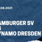 Hamburger SV - Dynamo Dresden Tipp 01.08.2021