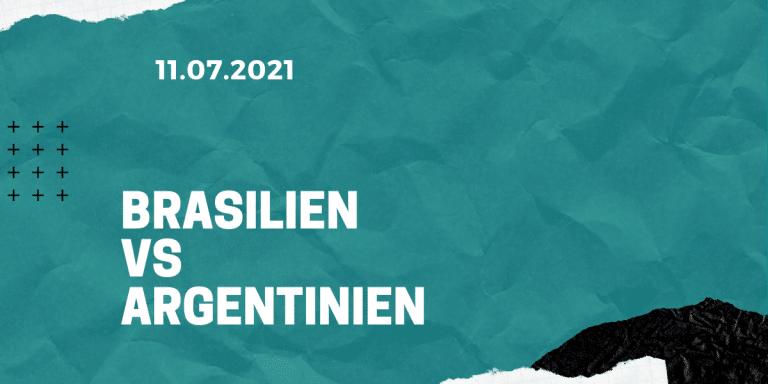 Argentinien - Brasilien Tipp Copa America Finale 11.07.2021